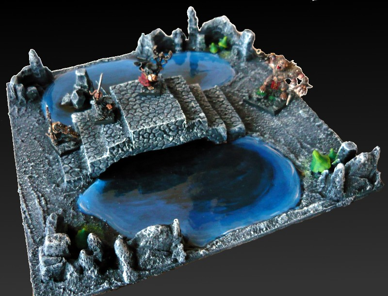 Skavenblight's Underground Scenery - Page 2 02-podziemne_jeziorko_z_mostem1