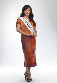 MISS INDONESIA 2011 CONTESTANT - Mira Damayanti