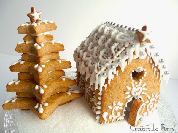 Maison en pain d'épice - Gingerbread house