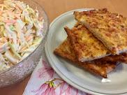 Kunkkupannari ja coleslaw
