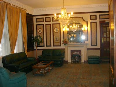 Redcar Hotel, lounge, Bath, England