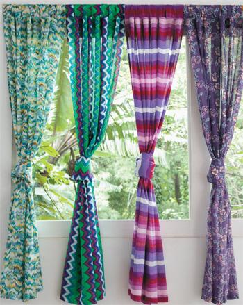 Flor das fadas by f tima nogueira cortinas diferenciadas - Diferentes modelos de cortinas para sala ...