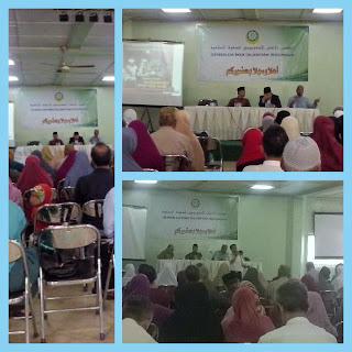Informasi kesehatan dari susu haji sehat kepada calon jama'ah haji KBIH Dewan Dakwah Jakarta
