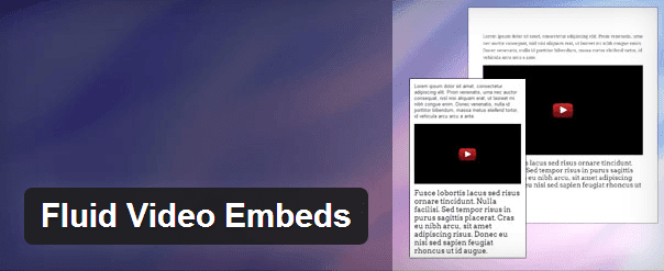 Fluid Video Embeds