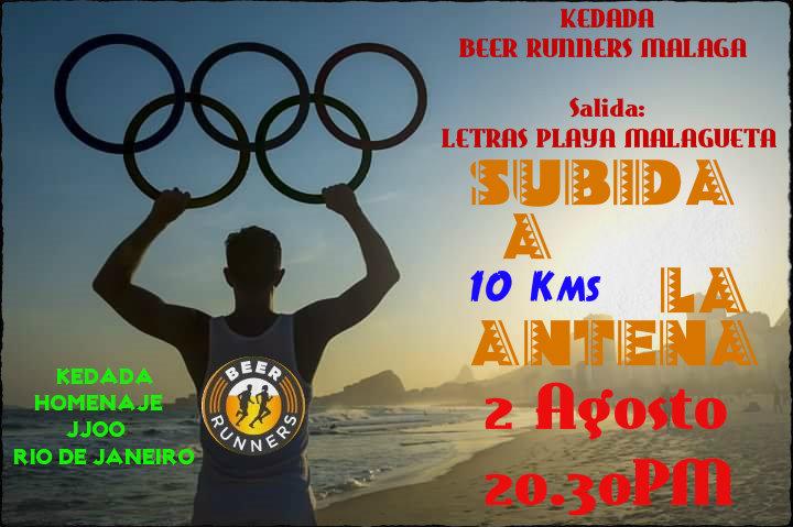LA ANTENA-FIN DE TEMPORADA-JJOO RIO DE JANEIRO