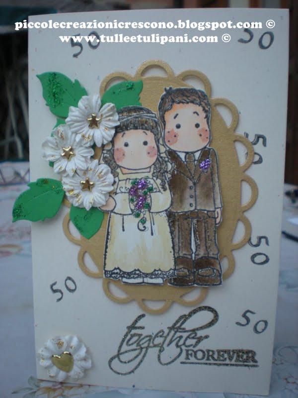 Auguri Matrimonio Amici Intimi : Piccole creazioni crescono anniversario di matrimonio