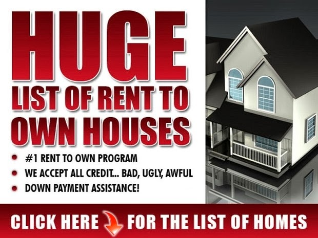 Rent to Own Houses and Property. Click Below Pictures to View