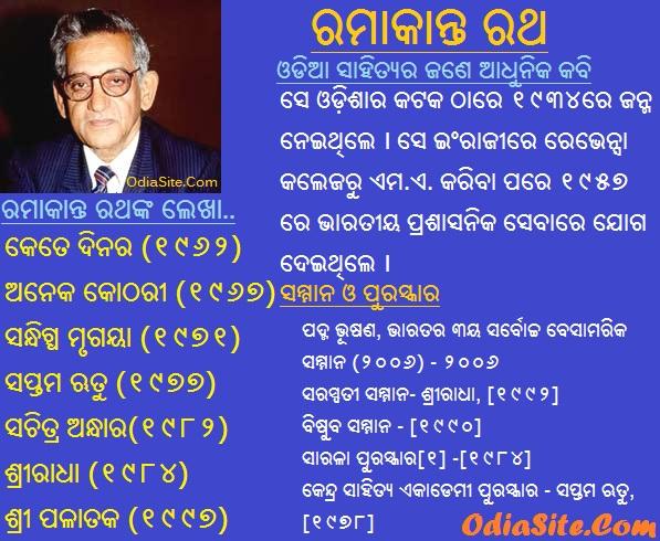 ramakanta rath oriya poet