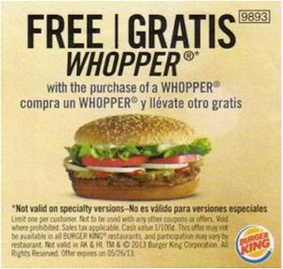 Burger king coupons november 2019