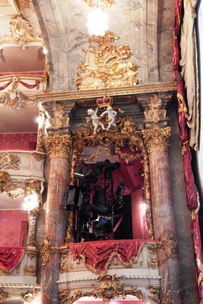 Cuvilliés Theatre Munich gold