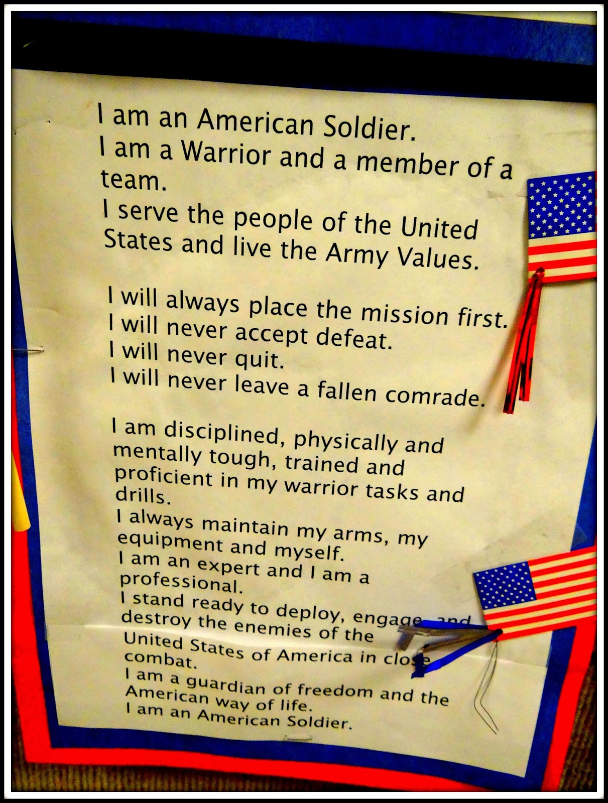 patties classroom veterans day art and activities for kids my nephew tyler posted this on facebook when he was in the army boot camp i loved it