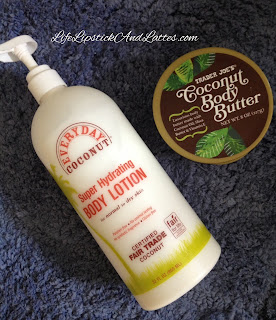 life lipstick and lattes everyday coconut body lotion vs trader joe 39 s coconut body butter. Black Bedroom Furniture Sets. Home Design Ideas