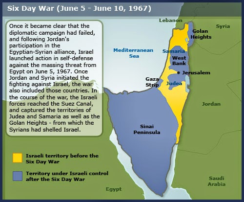 arab israeli war 1967 On the morning of june 5, 1967, israel launched a preemptive strike against egyptian forces in response to egypt's closing of the straits of tiran.