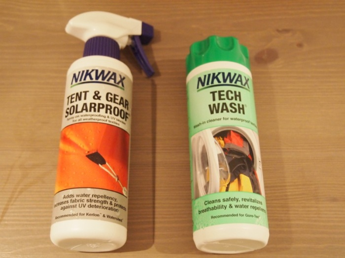 & Nikwax Tech Wash and Nikwax Tent u0026 Gear SolarProof Review