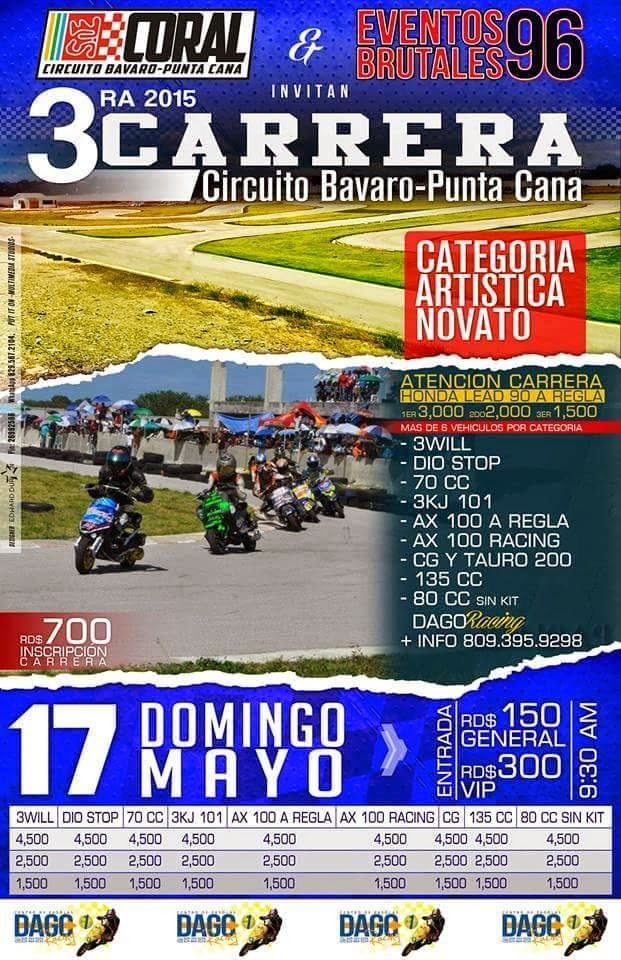 3ra Carrera Circuito Bávaro Punta Cana