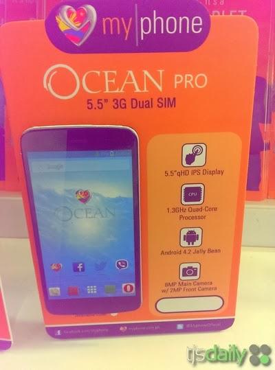MyPhone Ocean Pro Specs