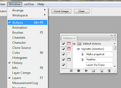 action Mengenal dan membuat Action di Photoshop