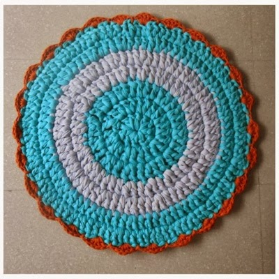 Patrones trapillo tutorial alfombra de trapillo - Tutorial alfombra trapillo ...