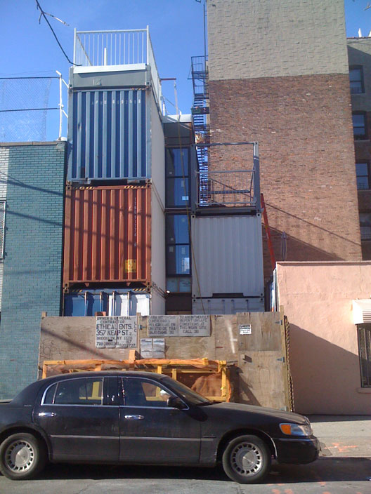 Shipping container homes 5x 20 ft shipping container home williamsburg brooklyn new york - Foot shipping container home ...