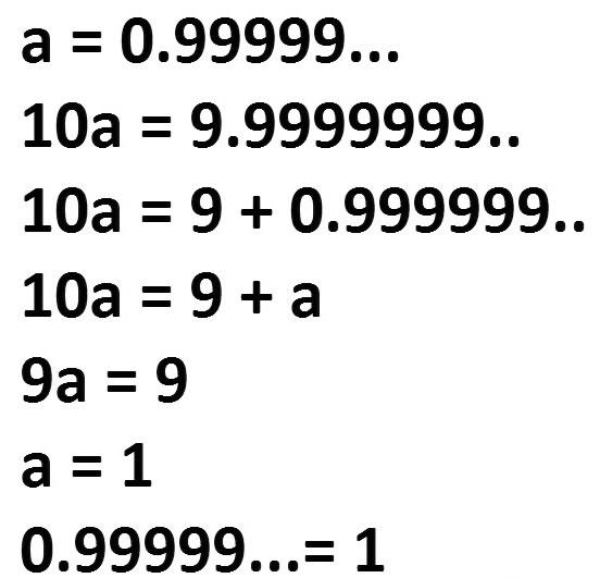 Truque matemático.