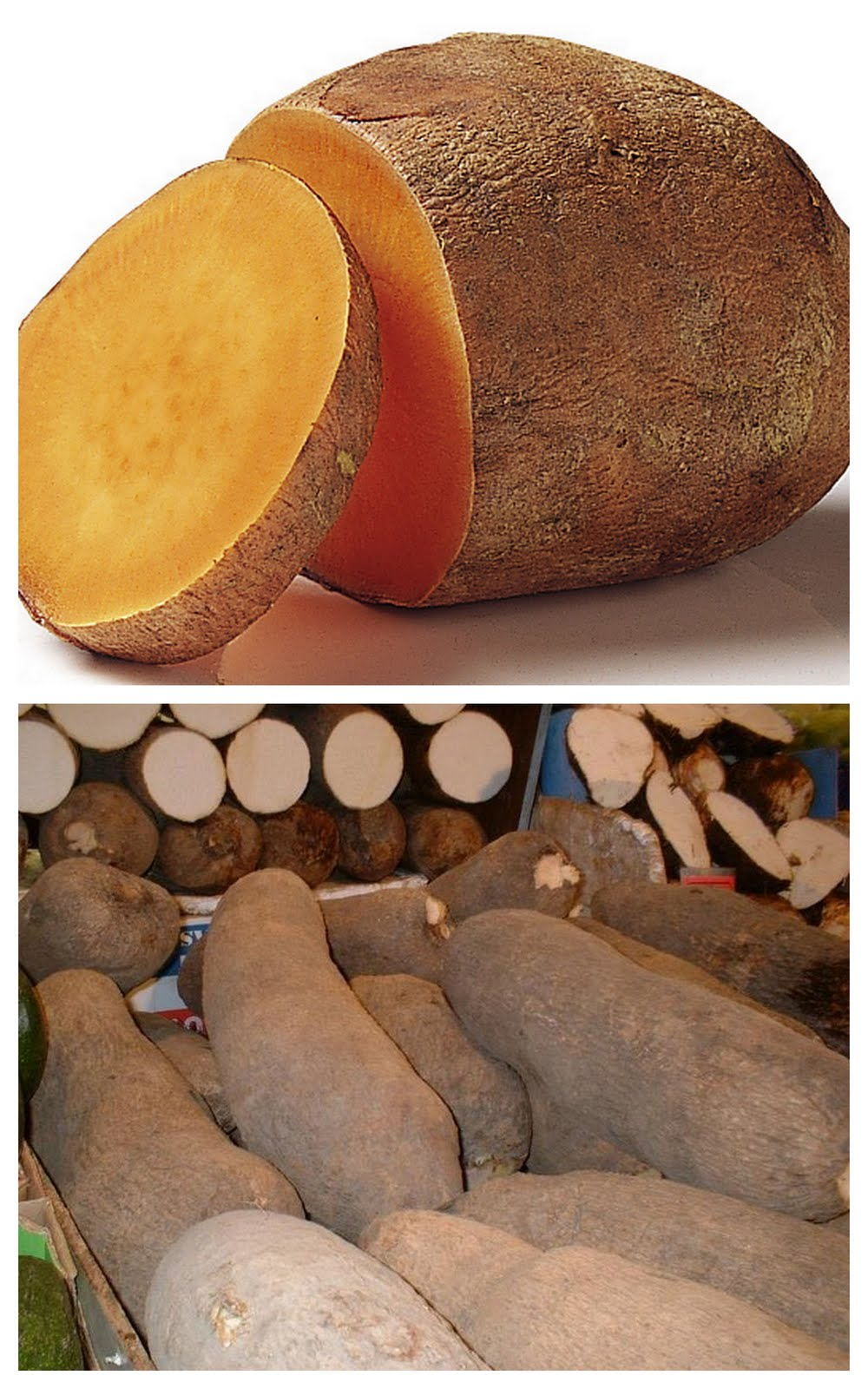 how to cook white yams
