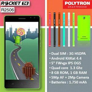 Harga dan Spesifikasi Polytron Rocket T4 R2506
