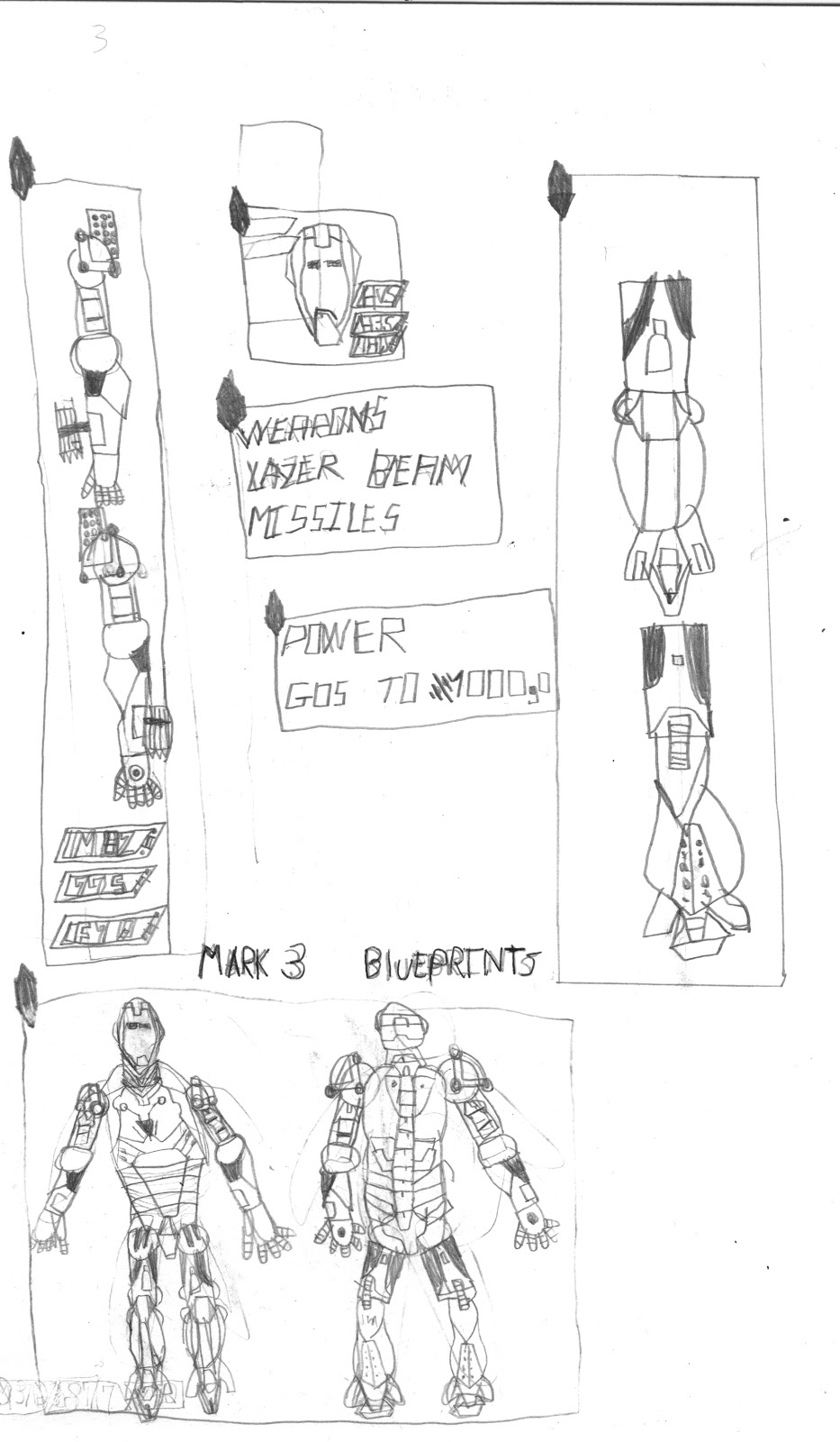 Iron Man Mark 5 Blueprints Images Pictures Becuo