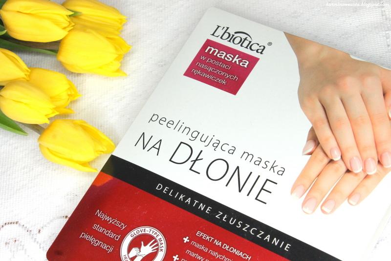 L`biotica maska na dłonie peelingująca