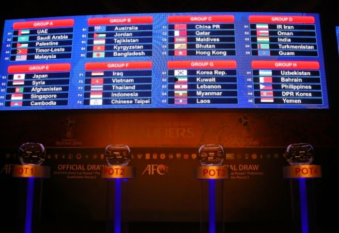 FIFA World Cup 2018 Qualifiers: India drawn with Iran and Oman