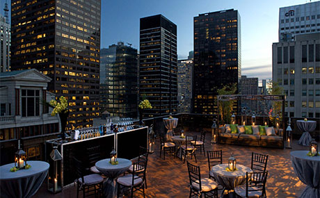 Living Room Bar And Terrace W New York