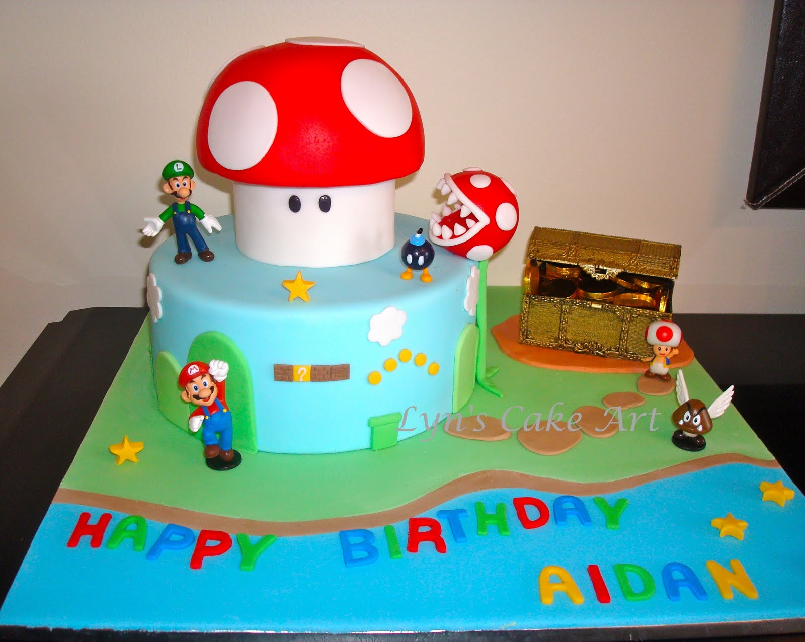 Cake Art Supplies Castle Hill : Lyn s Cake Art: Another Super Mario Cake