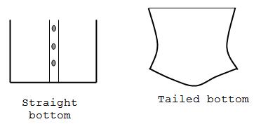 Bottom styles