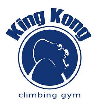 King Kong climbing.