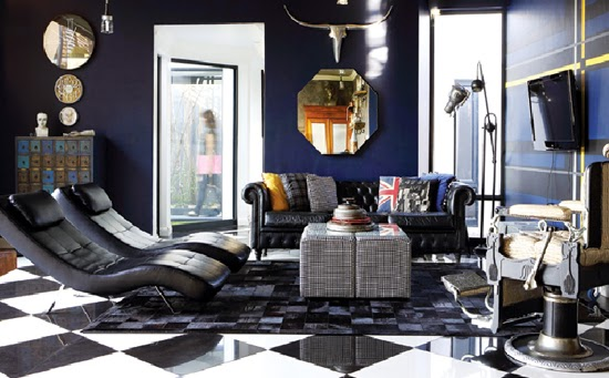 Safari Fusion blog | Moody blues | The colour palate of a contemporary Pretoria home, South Africa