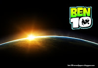 Ben 10 desktop Wallpapers Ben Ten Logo in Space Eclipse