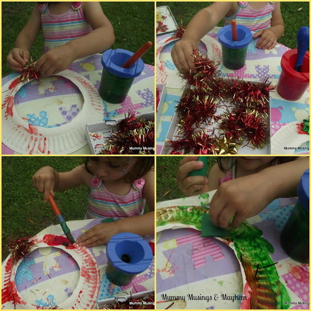Toddler Christmas craft