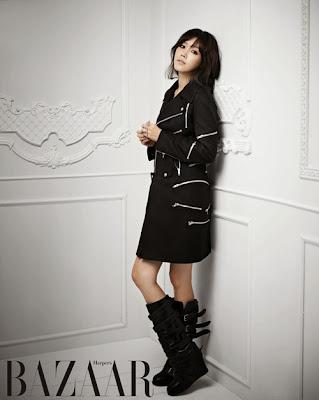 Chae Jung Ahn - Harper's Bazaar Magazine November Issue 2013