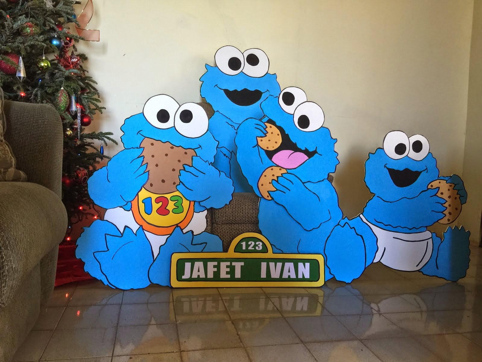 Cookie monster baby