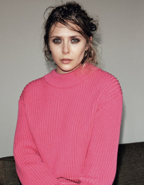 Elizabeth Olsen by Angelo Pennetta for Dazed & Confused