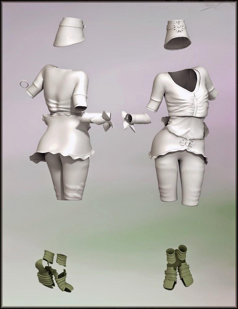 Folks Fae pour Genèse 2 Femme