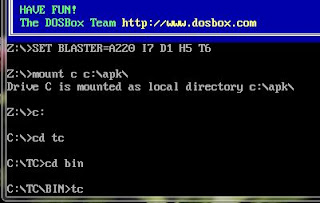 How to Get Turbo C/C++ in Full Screen on Window 7, 8 or vista Dosbox