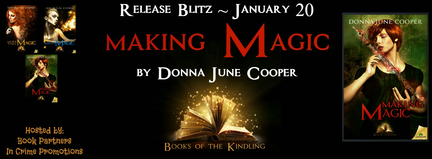 Making Magic by Donna June Cooper – Release Blitz + Giveaway