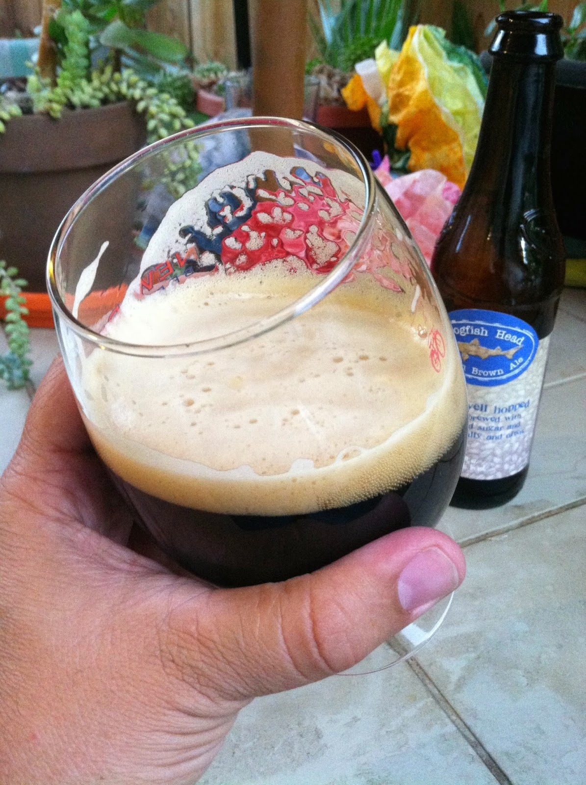 Dogfish Head Indian Brown Ale 3