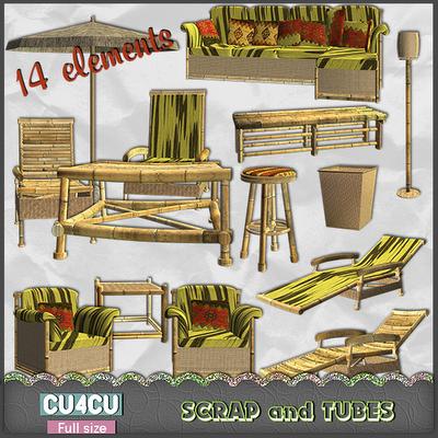 Bamboo Furnitures (CU4CU) .Bamboo+Furnitures_Preview_Scrap+and+Tubes