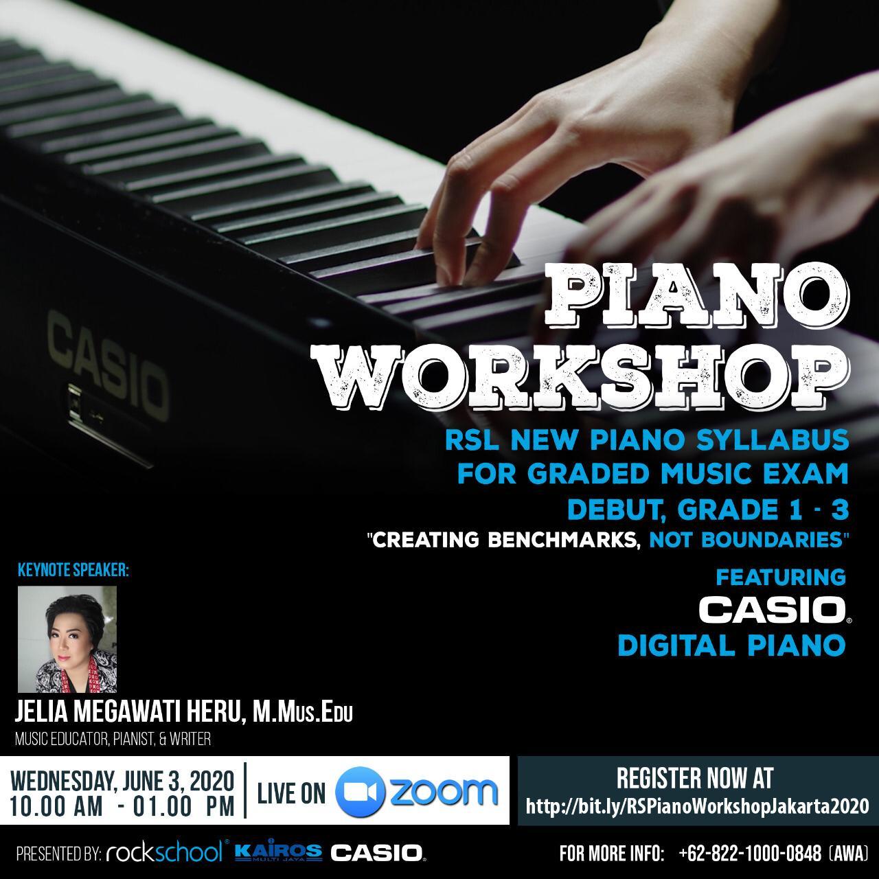 RSL Piano Workshop (Online)