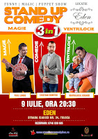 Stand-Up Comedy Joi 9 Iulie Tulcea