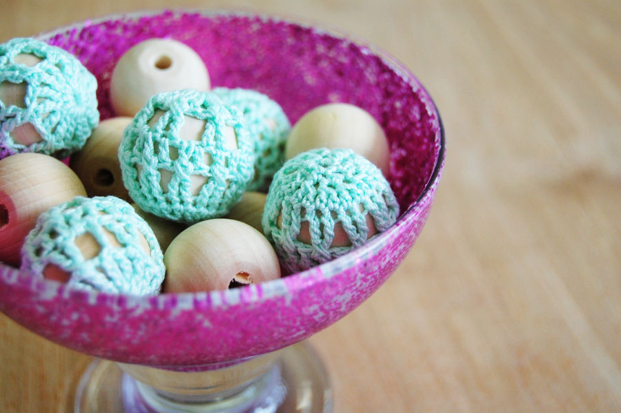 Mon Makes Things Free Pattern Crochet Wooden Beads