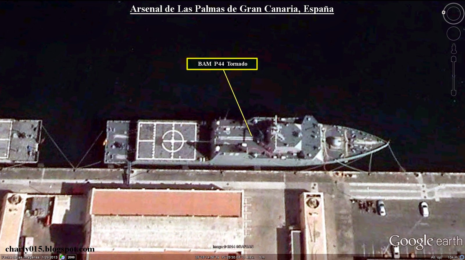 An lisis militares el bam de la armada espa ola for Oficina de correos las palmas de gran canaria