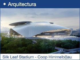 Silk Leaf Stadium - Coop Himmelb(l)au