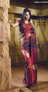 Trisha in silk saree for Pothys